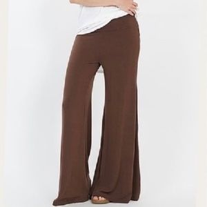 Brown Palazzo Pants,  PLUS SIZES  NWOT